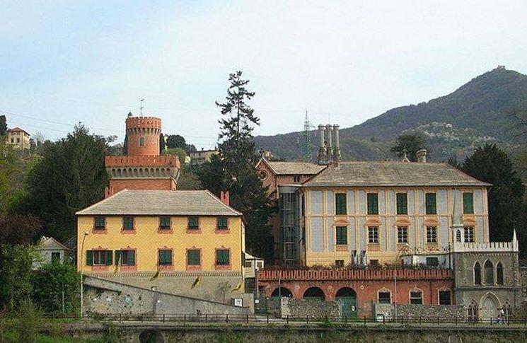 Il complesso di Villa Serra