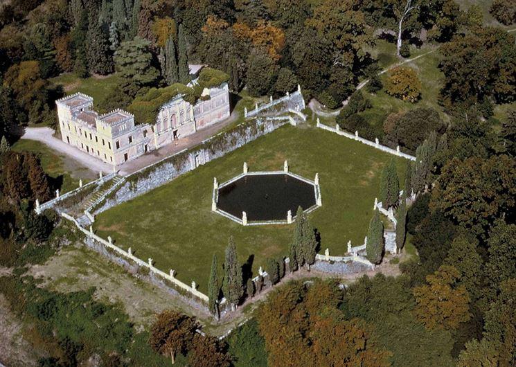 Villa Trissino Marzotto, panoramica.