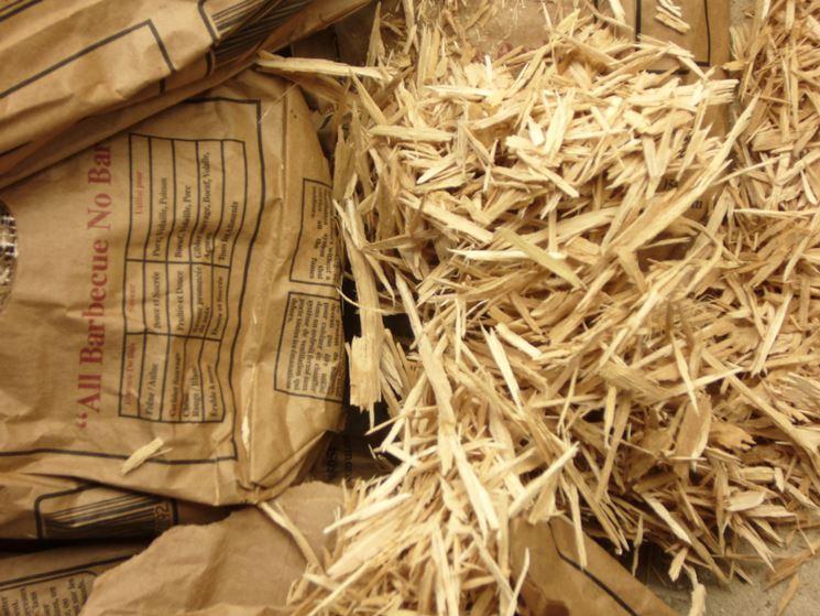 legna per affumicatura