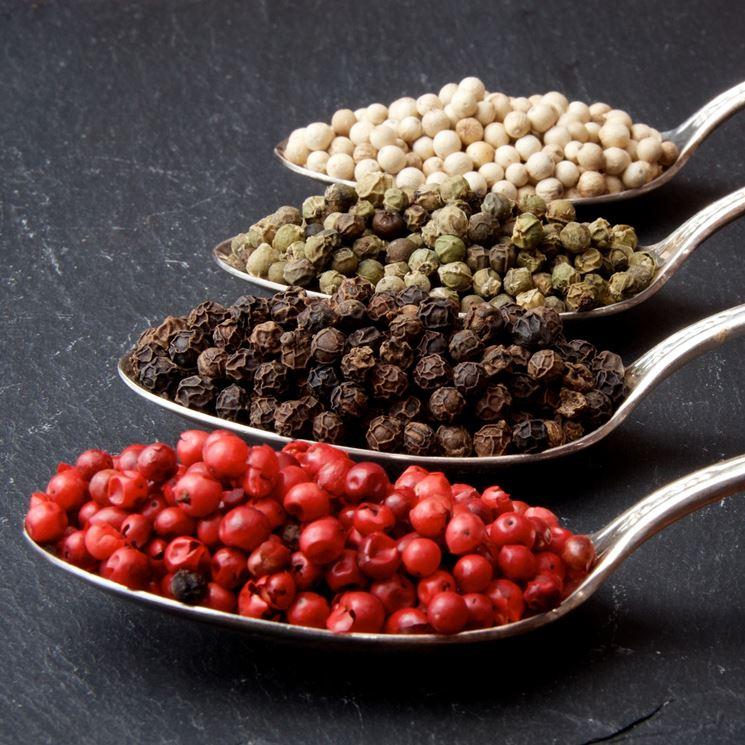 tipi di pepe