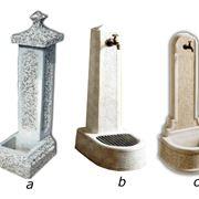 fontana con lavello