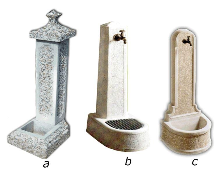 Fontane da giardino in cemento - Fontane - Migliori fontane in cemento
