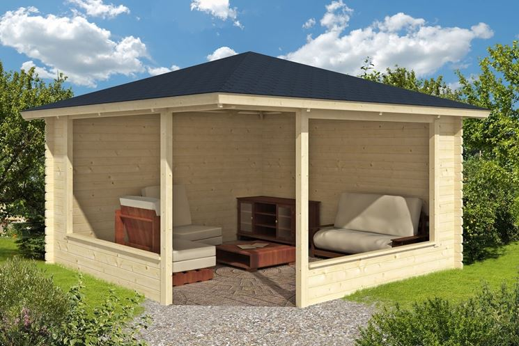 gazebo in legno da giardino gazebo. Black Bedroom Furniture Sets. Home Design Ideas