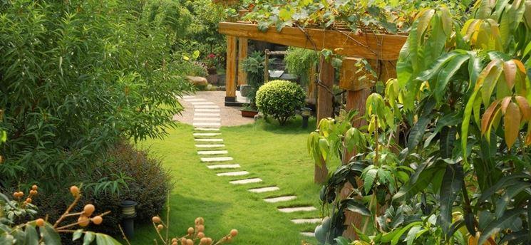 giardino rigoglioso