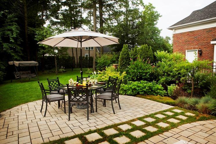 Creare un bel giardino crea giardino realizzazione - Foto case con giardino ...