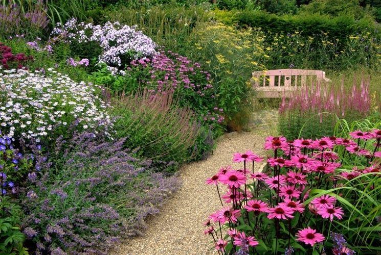 ghiaia per giardini - crea giardino - sassi da giardino - Piccolo Giardino Con Ghiaia
