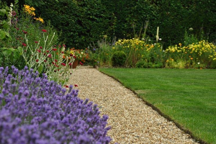 Popolare ghiaia per giardini - Crea giardino - sassi da giardino KQ08