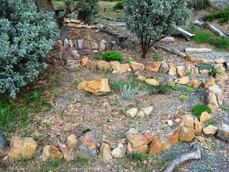 Ghiaia per giardini crea giardino sassi da giardino for Pietre per aiuole