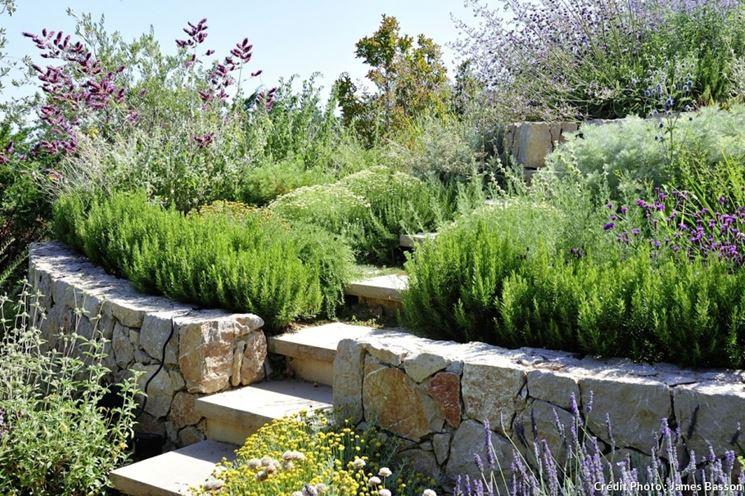 Giardini a terrazze crea giardino progetti giardini - Giardino a terrazze ...