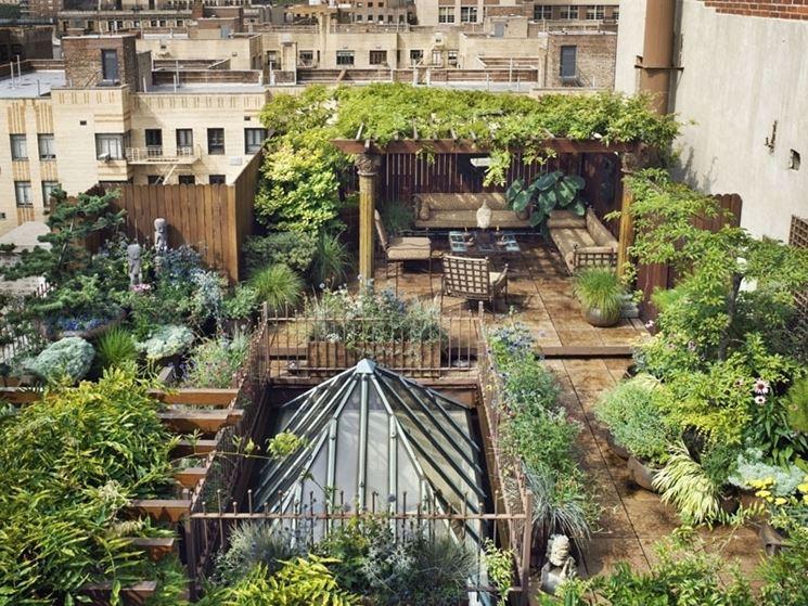 Popolare Giardini a terrazze - Crea giardino - Progetti giardini terrazzati QX83