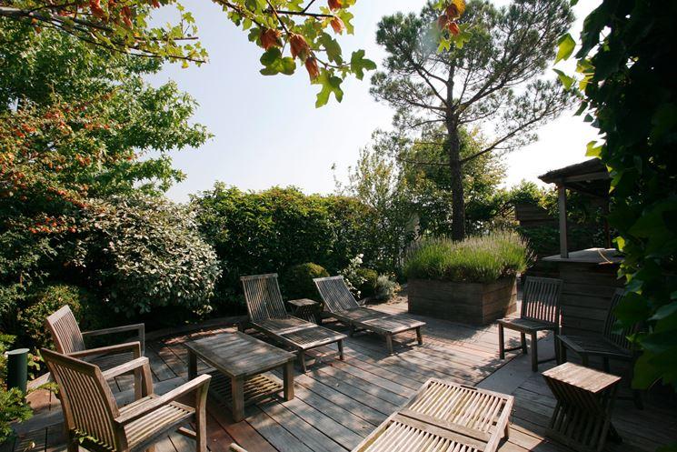 Giardini a terrazze crea giardino progetti giardini for Appartement paris 17 terrasse