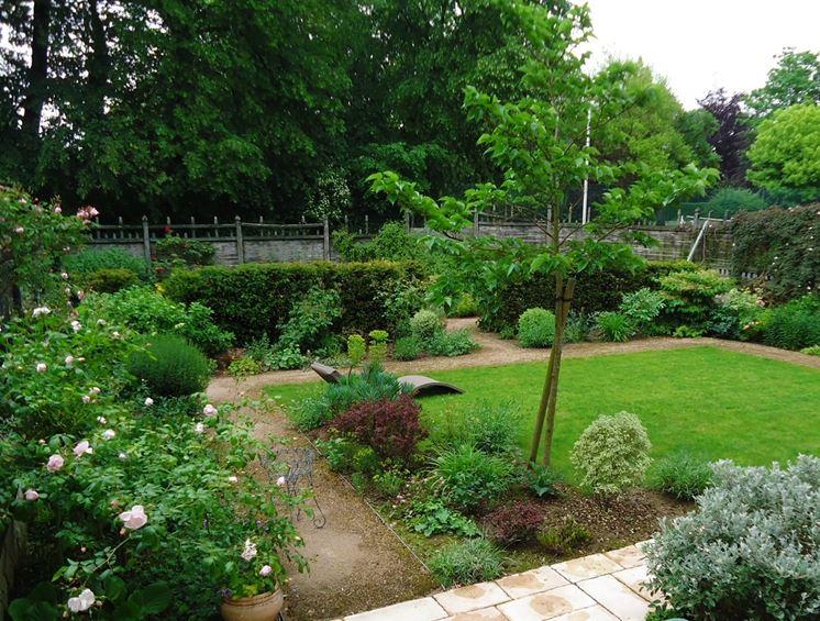 giardino di piccola metratura
