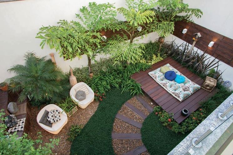 progetto giardino piccolo