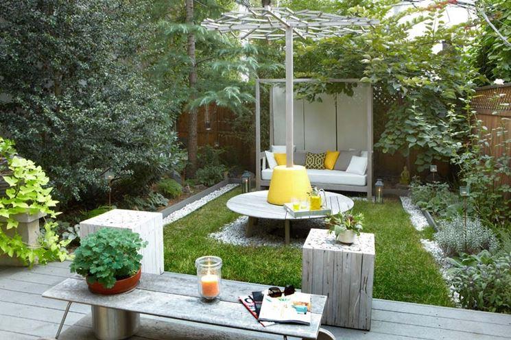 giardino ridotto