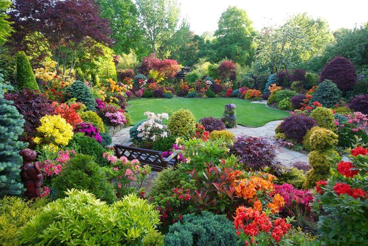 Giardini fioriti crea giardino realizzare un giardino for Manuale progettazione giardini