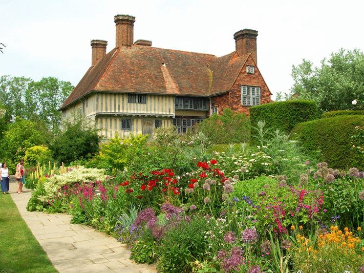Crea giardino all\'inglese