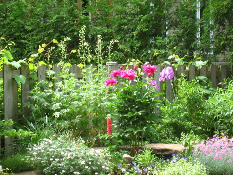 esempio di giardino inglese