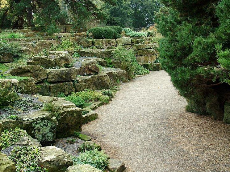 giardini rocciosi fai da te crea giardino