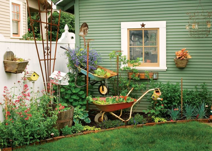 Super Idee giardino fai da te - Crea giardino - Giardino fai da te CF07