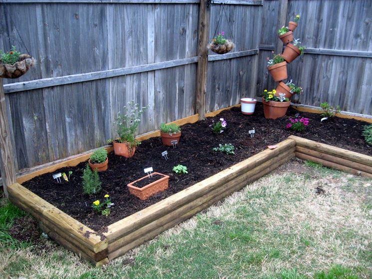 spesso Idee giardino fai da te - Crea giardino - Giardino fai da te AN86