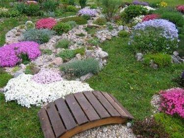 Realizzazione piccoli giardini crea giardino for Easy garden design ideas