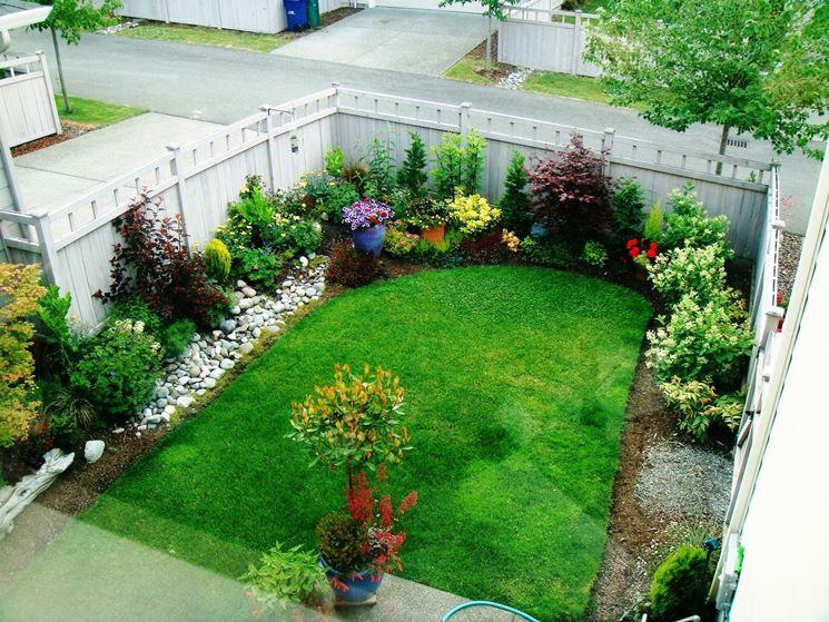 Realizzazione piccoli giardini crea giardino come for Giardino piccolo