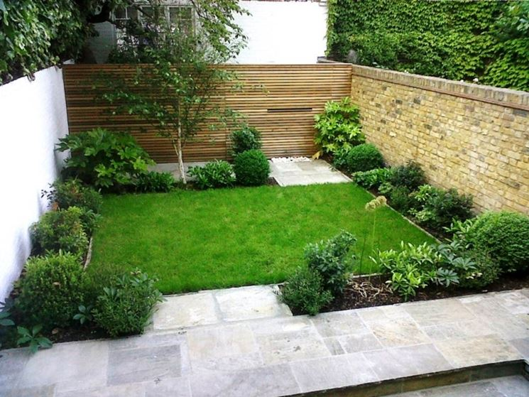 spesso Realizzazione piccoli giardini - Crea giardino - Come realizzare  IR77