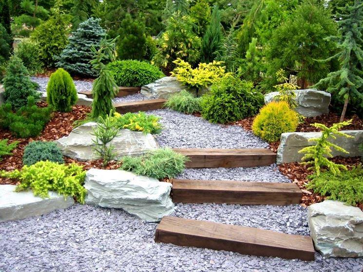 vialetto in giardino