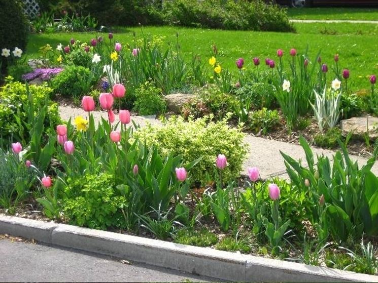 idee per il giardino - crea giardino - come progettare giardino - Decorare Un Giardino Piccolo