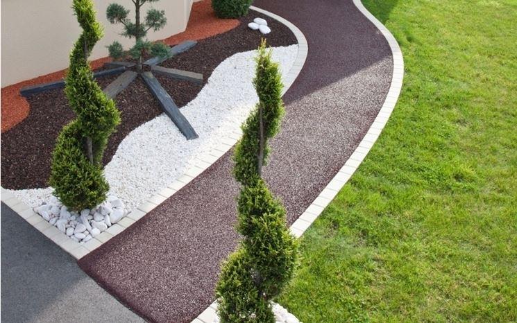 Vialetto giardino crea giardino come realizzare vialetti da