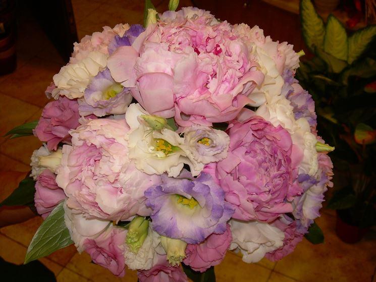 Bouquet contenente peonie