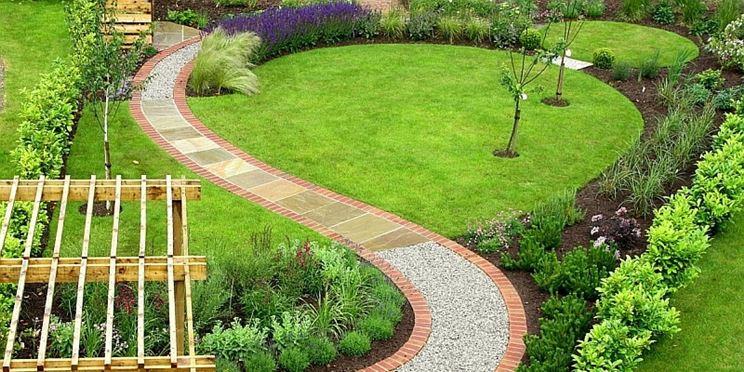 Piante bordare giardino