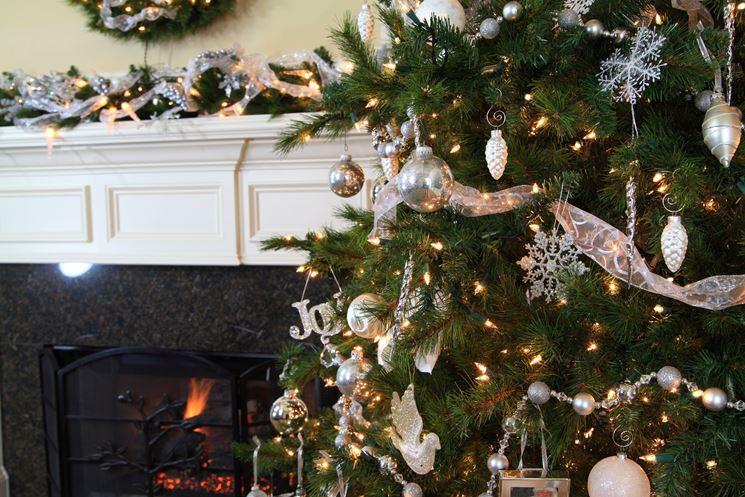 albero di Natale in casa