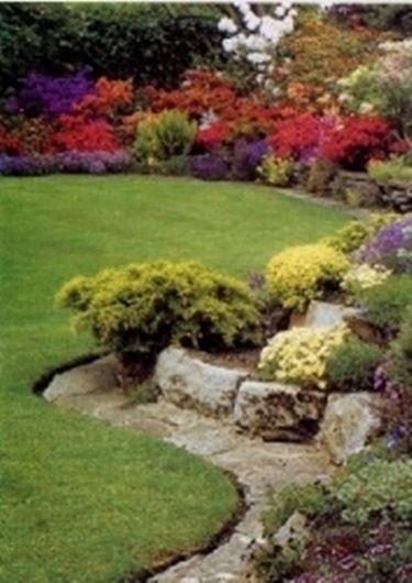 Vialetto per giardino roccioso speciali vialetto per for Piante secche ornamentali