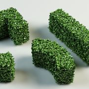 siepe sintetica 3D