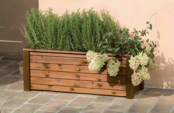 Vasche per il terrazzo tecniche di giardinaggio vasche - Piastrelle per balcone ...
