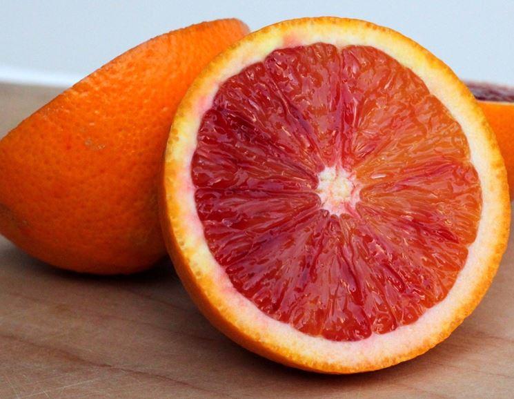 Polpa di arancia rossa