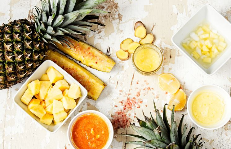L'ananas è ricco di bromelina