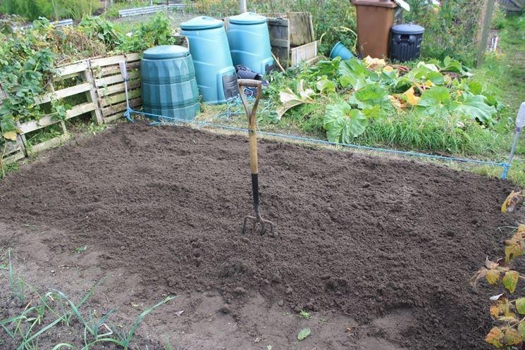 preparazione terreno orto