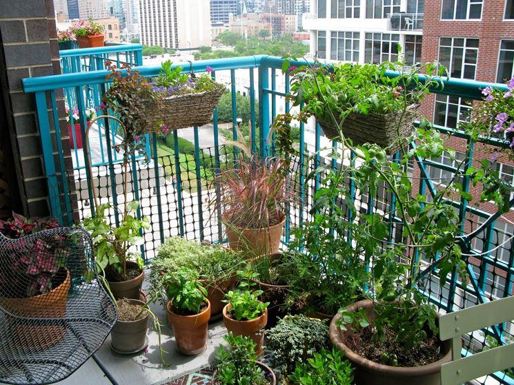 orti su balcone