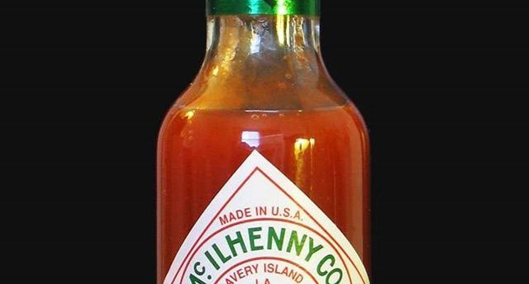 Bottiglia di salsa tabasco