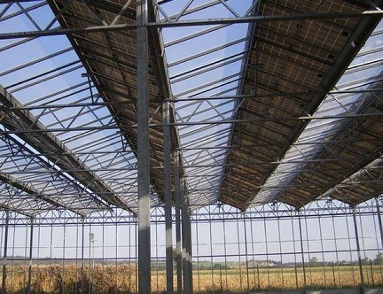 pannelli solari serre