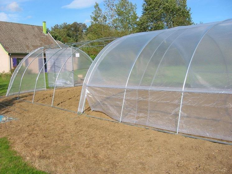 copertura serra in pvc