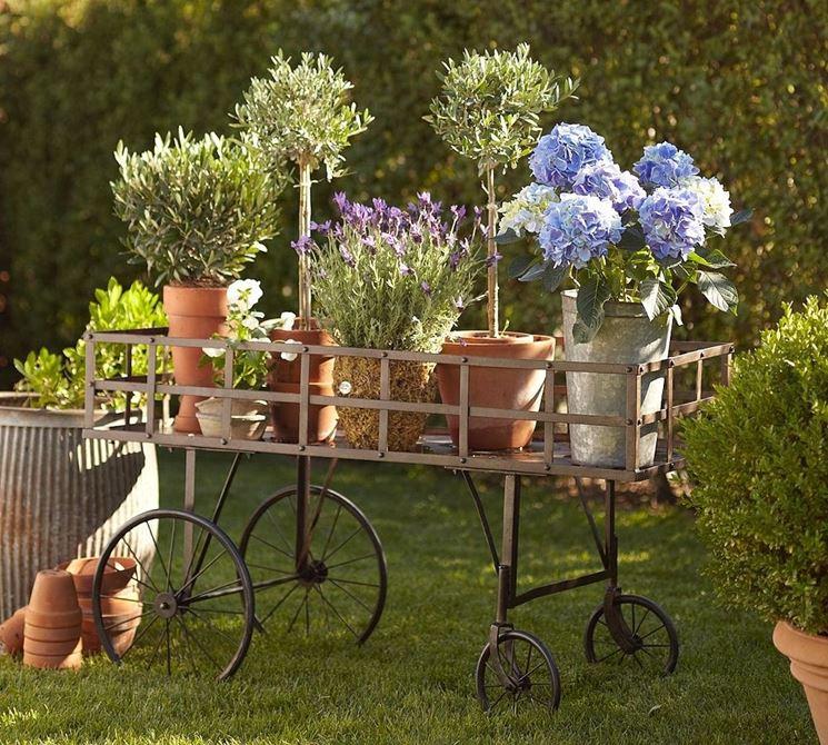 Decorazione giardini composizione piante decorazioni for Oggetti per abbellire il giardino
