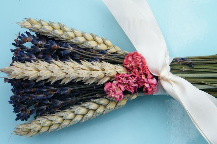 bouquet fiori secchi