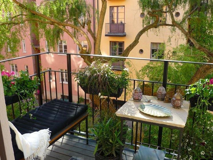 Arredo terrazzo piante da terrazzo come arredare il for Arredo giardino terrazzo