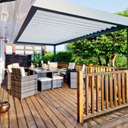 Coperture per terrazze pergole tettoie giardino - Soluzioni per copertura terrazzi ...