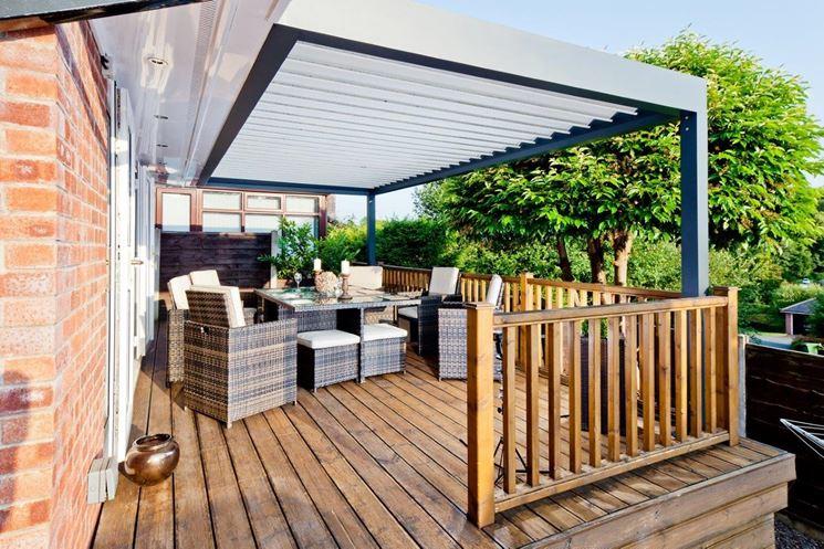 Coperture terrazzi - Piante da terrazzo - Coperture per balconi