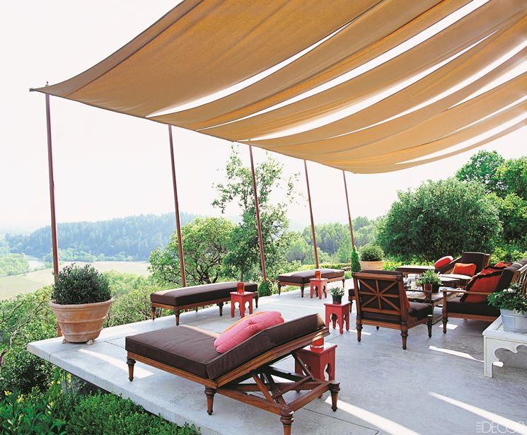 Coperture terrazzi piante da terrazzo coperture per balconi - Gazebo terrazzo vento ...