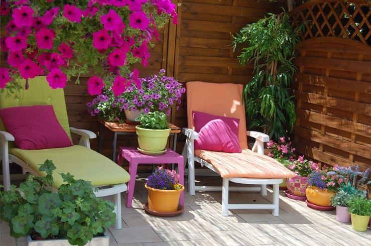 Fiori per terrazzi - Piante da terrazzo - Quali fiori per il terrazzo